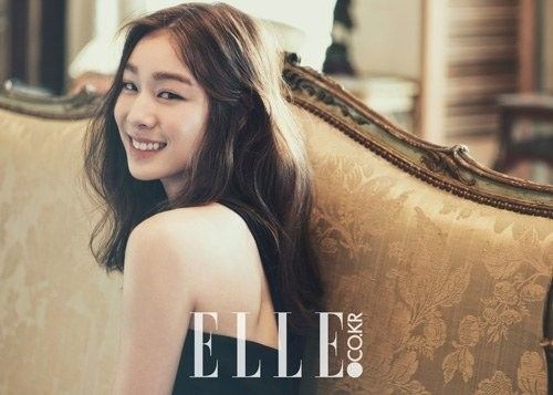 Olympic Skater Yuna Kim Poses for 'Elle' Korea   Koogle TV