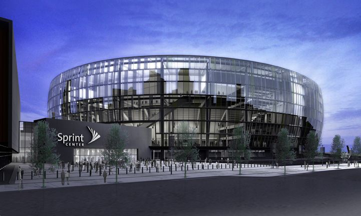 Sprint Center, Kansas City, MO.  Now if we can just get a sports team.  But we're getting great concerts.