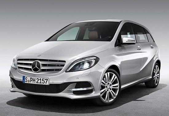 Mercedes-Benz B 200 Natural Gas Drive runs on alternative fuel to reduce emissions | Eco Chunk