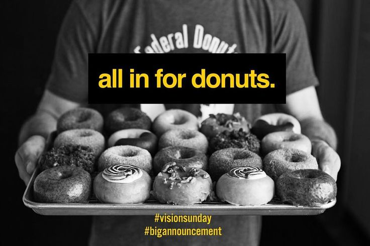 THREE reasons to come to @transformchurch this Sunday.  1. Its Sunday and everyone goes to church on Sunday.  2. Its vision Sunday and we have a BIG Announcement.  3. We are serving @federaldonuts  ______ We have EXCITING news about the future of Transform Church Philly and we cant wait to share it with you! On Sunday Dec 3rd at our 10:30am service Pastor @bodeabodunde will be sharing his heart passion and Dream for Transform Church in 2018. Its going to be a fun Sunday food Kids service and…