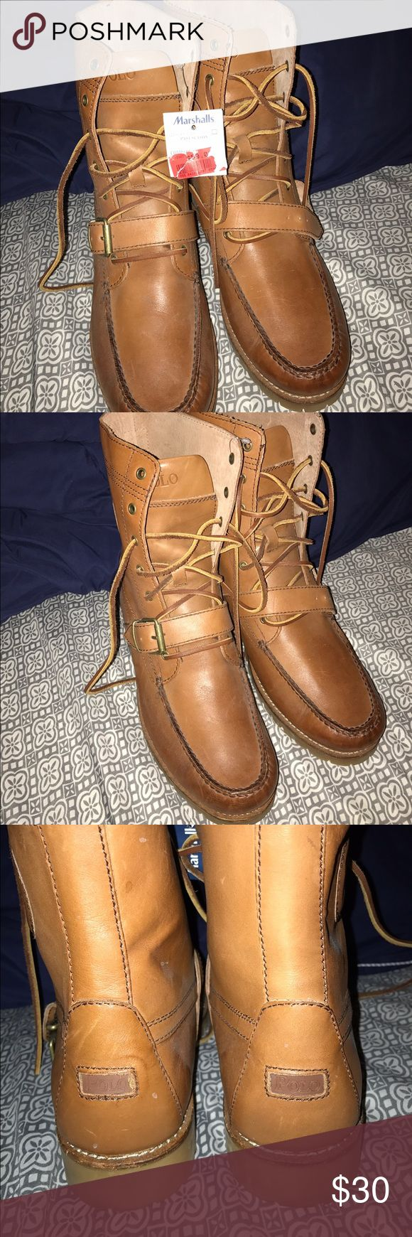 Ralph Lauren Polo Boots Brand new with tags. Ralph Lauren Polo Boots. Men. Size 11.5. Never worn. Bought at Marshalls as seen on the tag. Polo by Ralph Lauren Shoes Boots