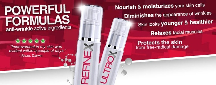 $68.00 #Refinex - #Ultrox #Advanced 30 day #Supply 1oz (30ml)  Extends the life of your #Botox Treatments