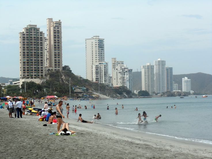 Playa El Rodadero. Santa Marta.