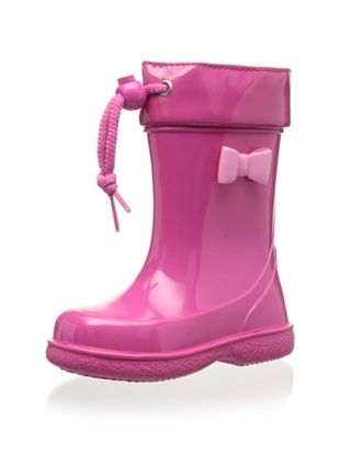 48% OFF igor Kid's Pipo Charol Rain Boot (Fucsia)