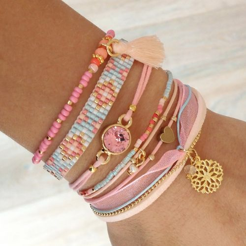 Pastel Bracelets | Mint15 | www.mint15.nl