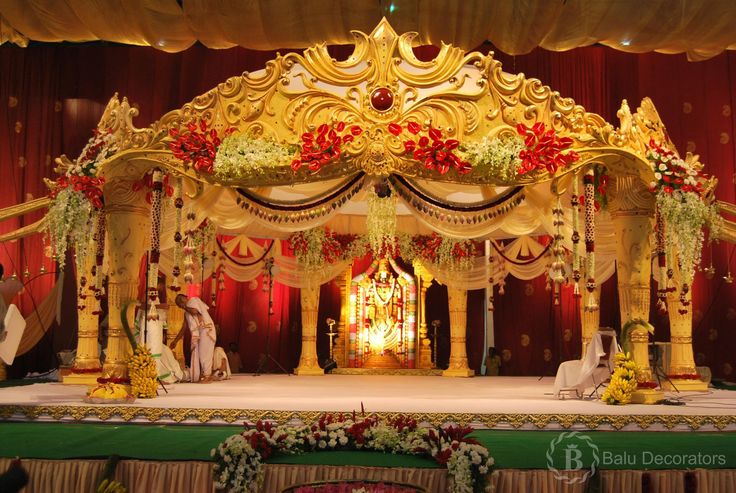 """these are the stage decorations of marriage......@!! its also called """"manavarai"""" in tamil......!!@ and it will be make a blossoms in bridal mind.....!@!@ #themedecorations #weddingdecorations  #baludecorators"""