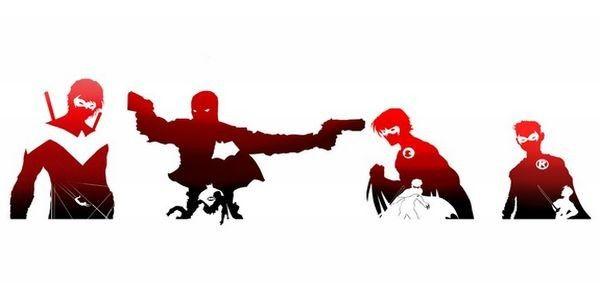 Dc Comics Silhouette - Google Search   Robin   Pinterest ...