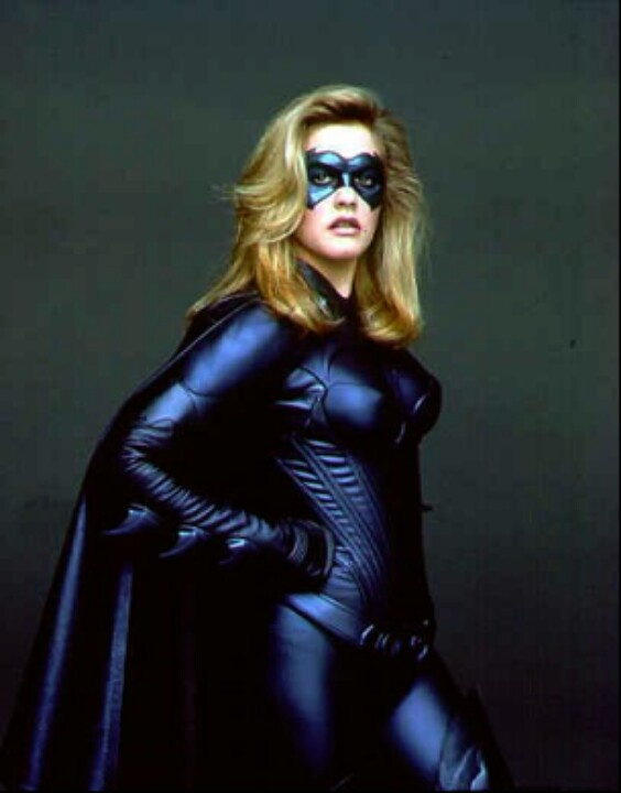 "Publicity shot of Alicia Silverstone as Batgirl in ""Batman and Robin"" - 1997."