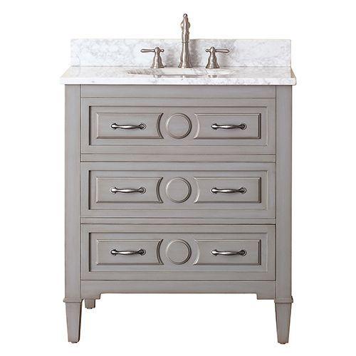 Kelly Grayish Blue 30 Inch Vanity Only Avanity Vanities Bathroom Vanities Bathroom Furnitu