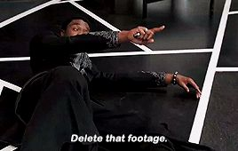 Black Panther: Delete that footage!
