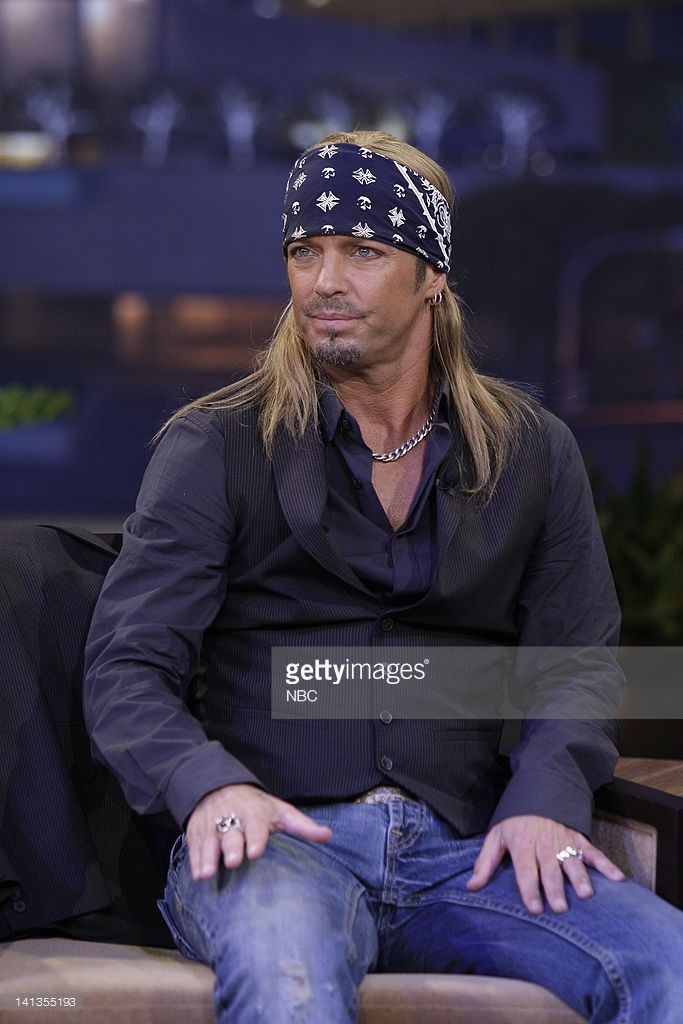 Singer Bret Michaels during an interview on May 25, 2010 -- Photo by: Paul Drinkwater/NBCU Photo Bank