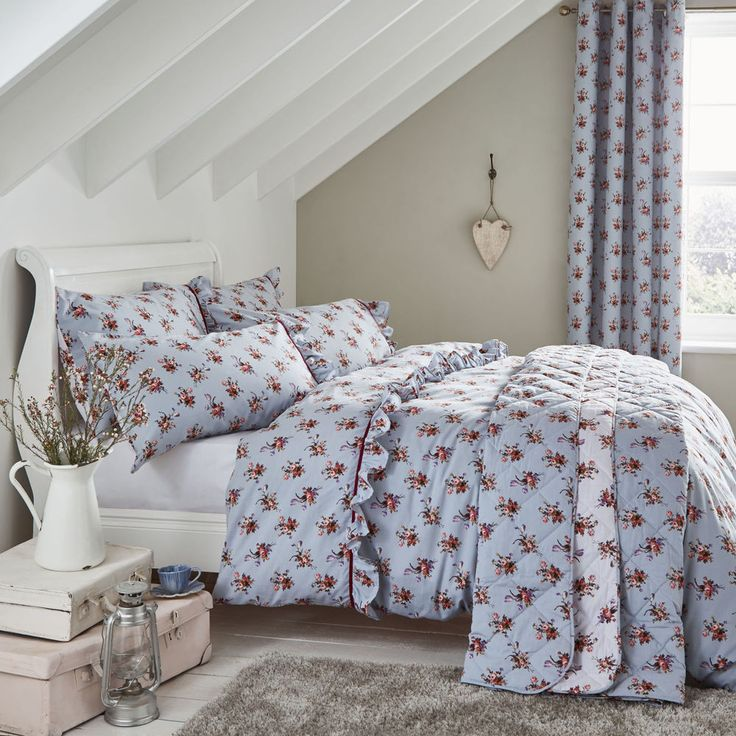 Catherine Lansfield Vintage Floral Duvet Set and optional Accessories #CatherineLansfield #Country