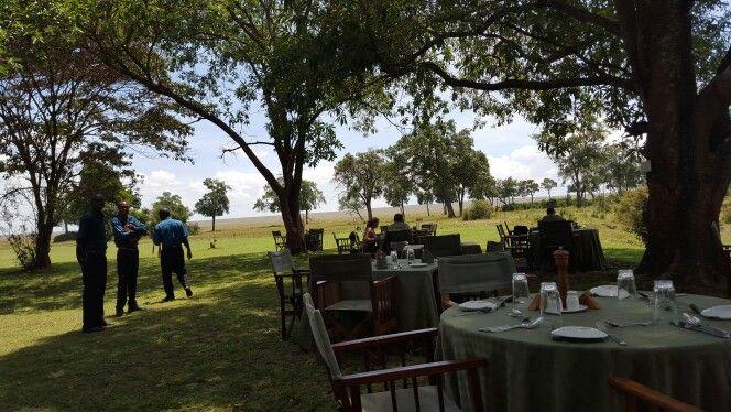 Lunch time at Governors Camp Maasai Mara
