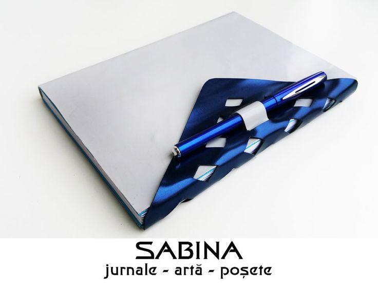 75 LEI | Jurnale handmade | Cumpara online cu livrare nationala, din Timisoara. Mai multe Papetarie in magazinul ArtGallerySABINA pe Breslo.