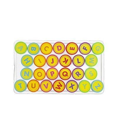 alfabet stempels met inkt - HEMA