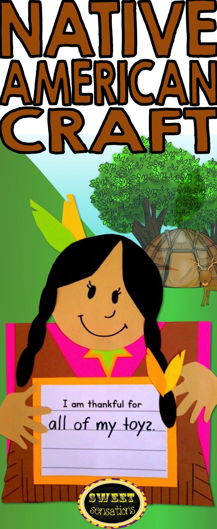 1000 images about first grade holidays crafts on for Native american thanksgiving crafts