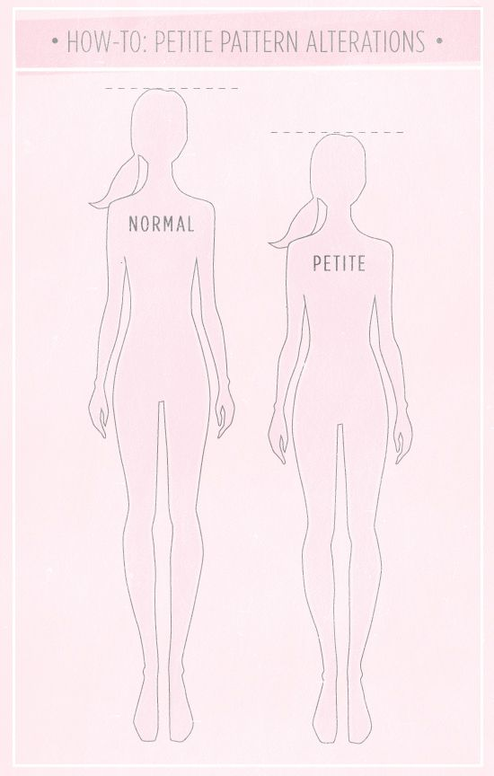 How to Make A Pattern Petite