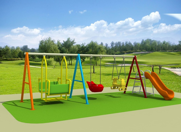 AWESOME KIDS FIT Swing set - A slide as well as a double swing.. Wow lots of fun 6000 x 2000 x 1900  $1457.00  Visit us at www.playcubb.com.au