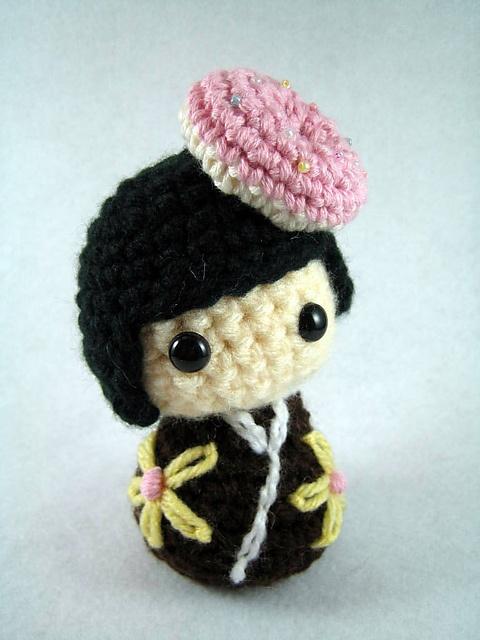 Ravelry: susiefarmgirl's Donut Kokeshi Club Amigurumi dolls