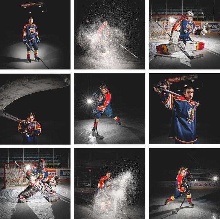 Barrie Colts Hockey Portrait Photos, Sports Photography, Hockey Player Portraits