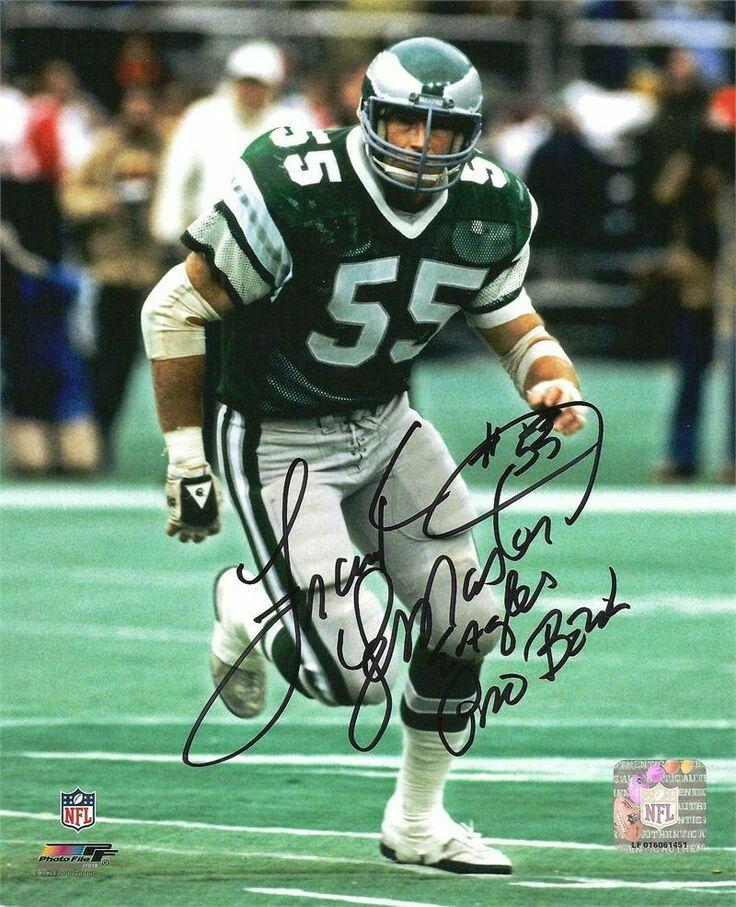 Philadelphia Eagles LB Frank LeMaster Philadelphia