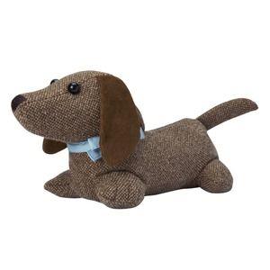 Brown Dog Doorstop