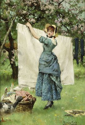 "I love to hang up and dry clothes in the sunshine. Saves money,smells divine & good for you.aka : some quiet ""alone"" time (not many family members offer to help) great exercise & the sunshine kills ""stuff"". Only downside is the  towels aren't so soft & fluffy"