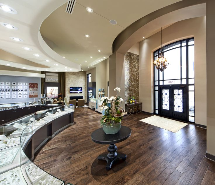 Crockers Jewelers Manufacture Design Of Store Fixtures By Artco Group Proudly Made In America