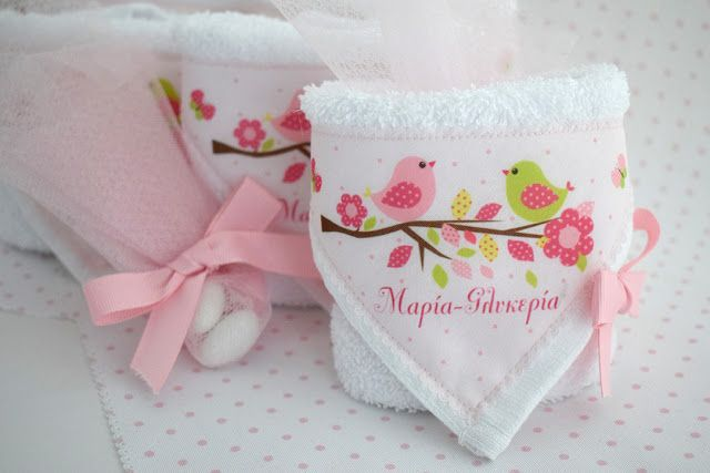 Mombaby | Personalised Christening Favours & Gifts: Μπομπονιέρα βάπτισης με θέμα πουλάκια σε κλαδί, πο...