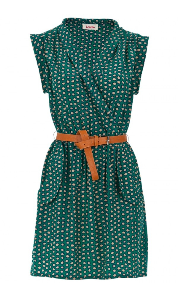 Louche Zaza Crayon Print Dress | WOMENSWEAR. I don't know why but I seriously love this dress.
