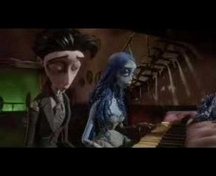 Corpse Bride Piano Duet - YouTube I love this movie and this song is beautiful.