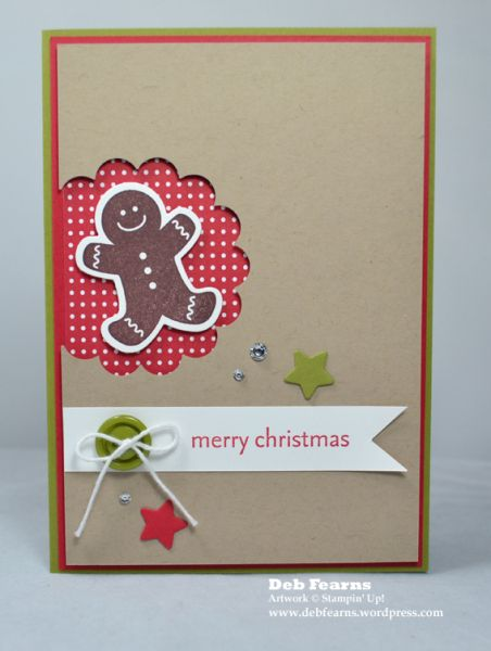 Stampin' Up! Christmas Card by Deb Tearns