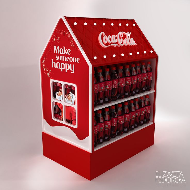New Year series of POSm for Coca-Cola 2016 on Behance