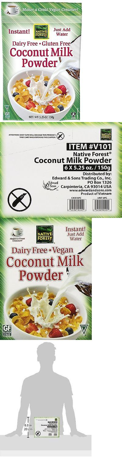Milk and Non-Dairy Milks 179177: Native Forest Coconut Milk Powder 5.25 Ounce (Pack Of 6) -> BUY IT NOW ONLY: $31.58 on eBay!