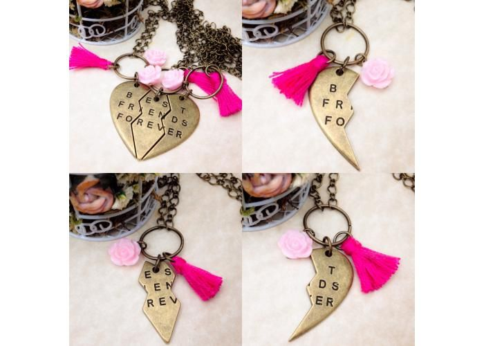 Amairani Accesorios: Juego de 3 Collares Best Friends Forever - Kichink