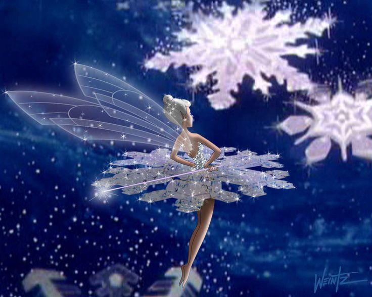 Fantasia's Snowflake Fairy: