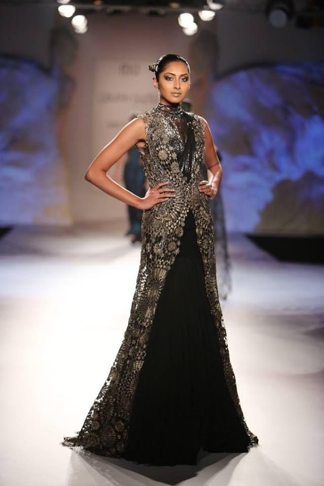 Gaurav Gupta at India Couture Week 2014 - black dress