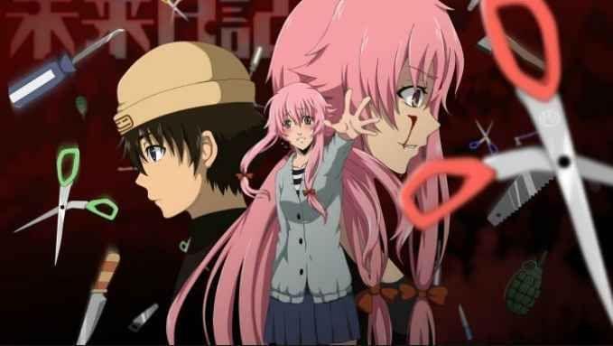 Mirai Nikki Bd Subtitle Indonesia Batch Episode 1 26 Kurosave Com Mind Game Anime Mirai Nikki Mirai Nikki Future Diary