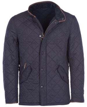 BARBOUR MEN'S POWELL QUILTED JACKET. #barbour #cloth #