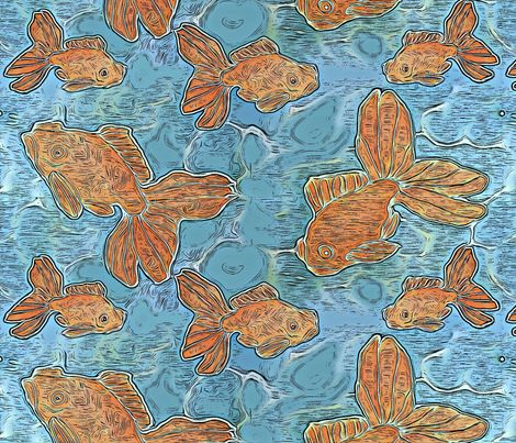17 best images about quilted sisters on pinterest for Koi fish material
