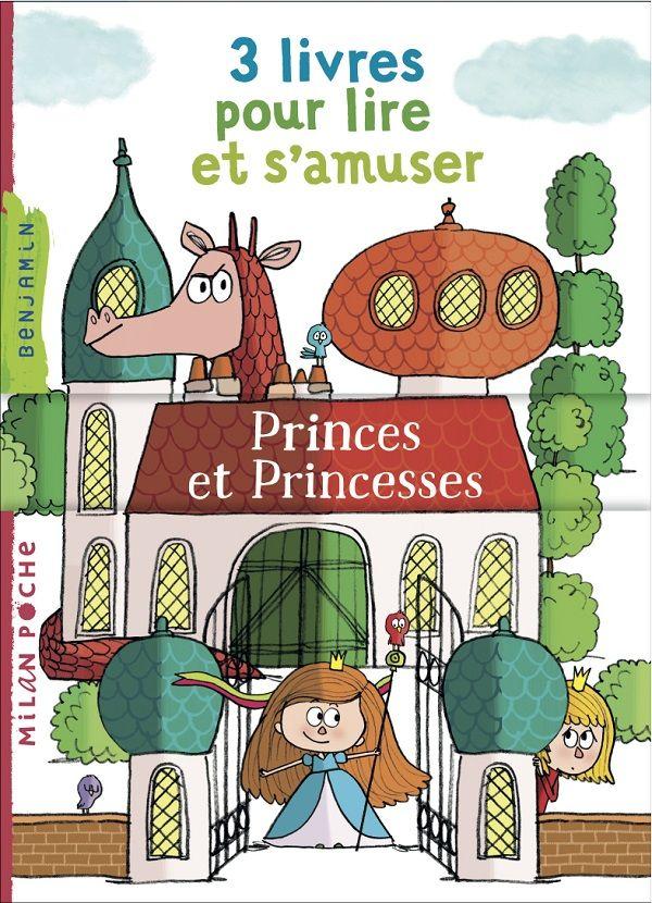 3 livres pour lire et s'amuser. Princes et princesses, Collectif, Milan Jeunesse