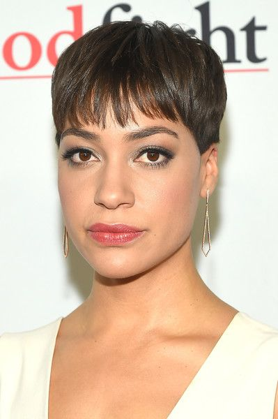 Cush Jumbo Pixie - Cush Jumbo sported her signature pixie when she attended the world premiere of 'The Good Fight.'