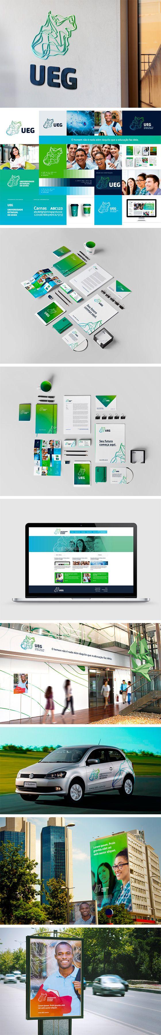 Branding University UEG  #branding #graphicdesign #designgrafico #design