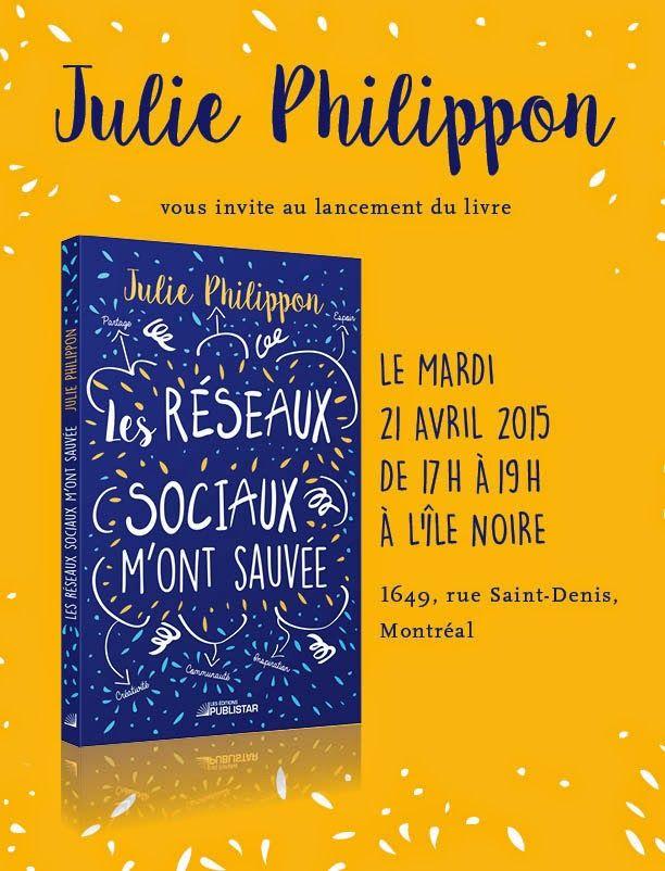 Un livre, deux lancements! #LesRéseauxSociauxMontSauvée | Mamanbooh!