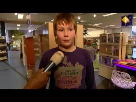 Jeugdjournaal: Babel, de jeugdafdeling van de bibliotheek Hoorn