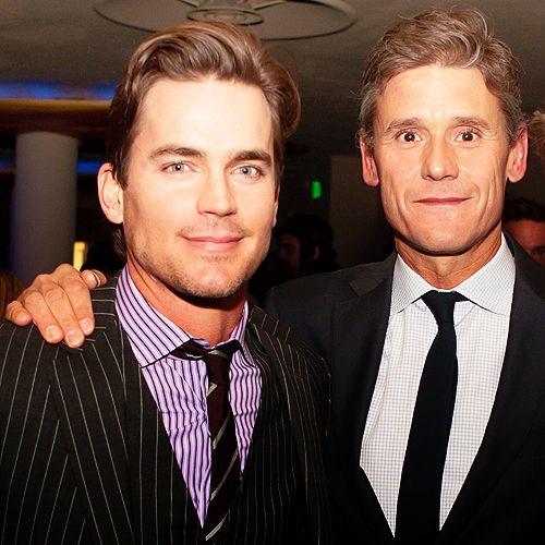 Matthew Bomer (White Collar) and his boyfriend Simon Halls.
