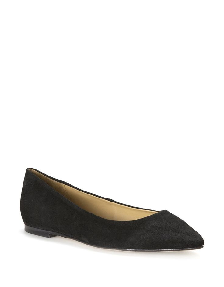Carrie Suede Flat