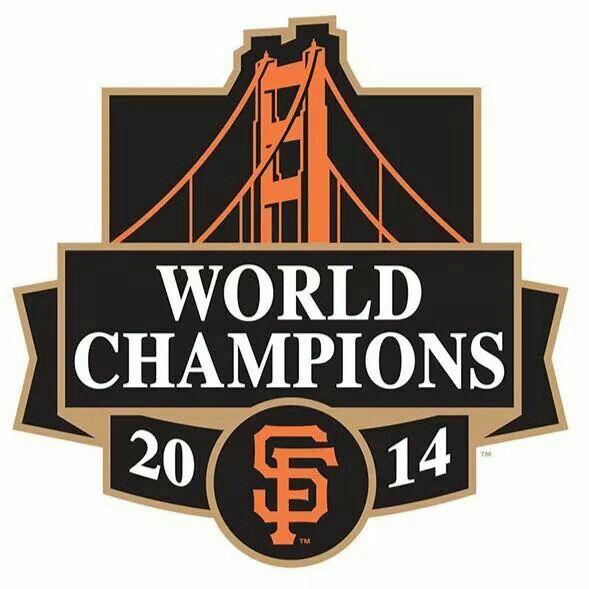 SAN FRANCISCO GIANTS.  2014 WORLD CHAMPIONS.