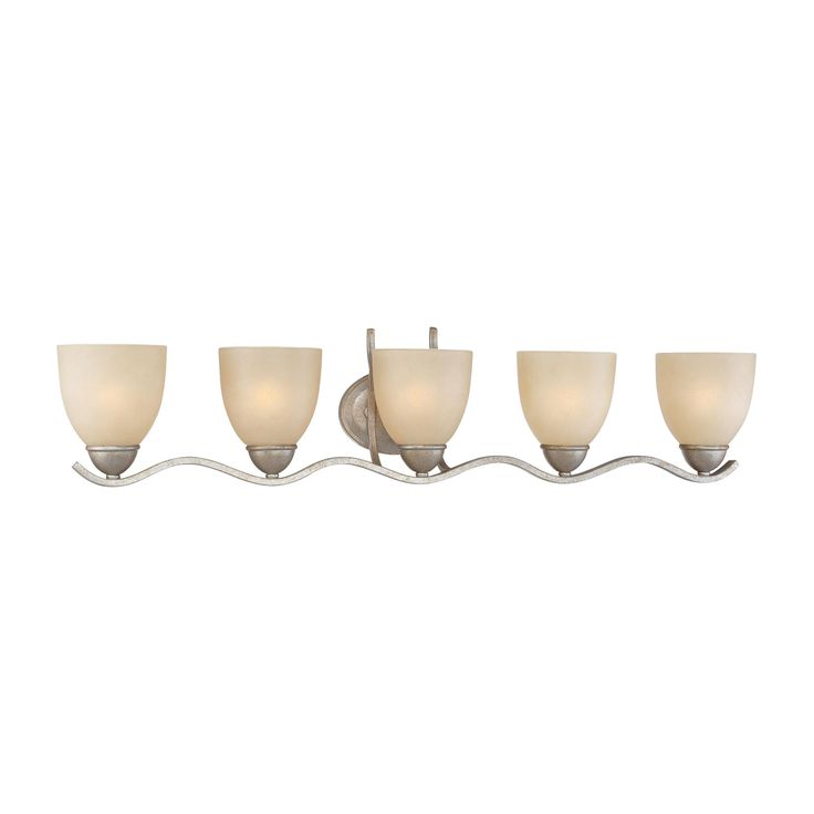 Thomas Lighting SL717572 Triton Collection Moonlight Silver Finish Traditional Wall Sconce