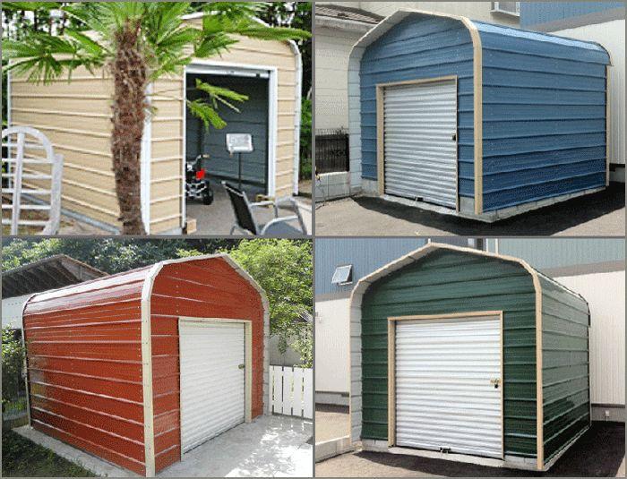 アメリカンスチールガレージ 木製物置・ガーデン家具・アメリカン ... アメリカンスチールガレージストレージタイプ